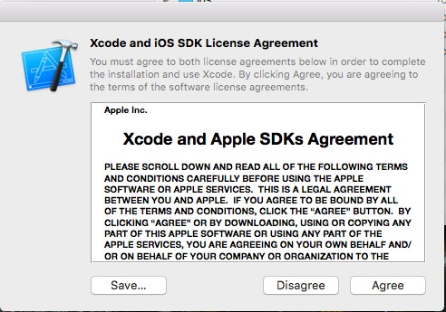 Policy Xcode